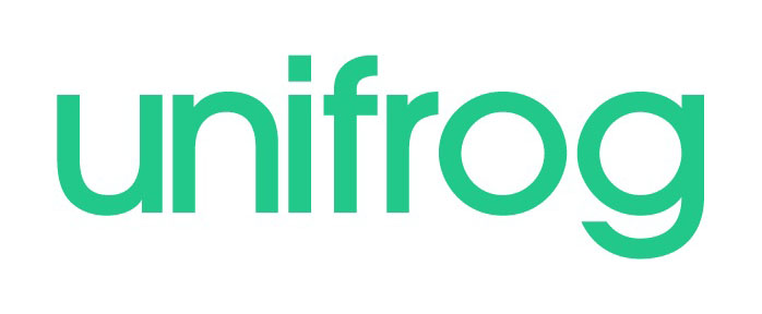 Uni Frog logo and link to website